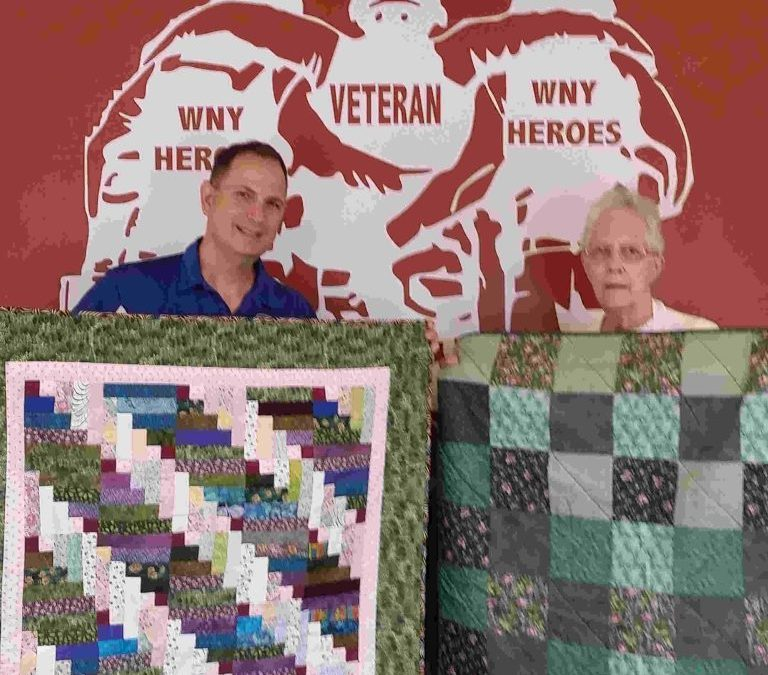 Quilts for Charity Offers Comfort