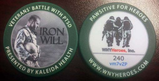 WNY Heroes Coin available for only $20