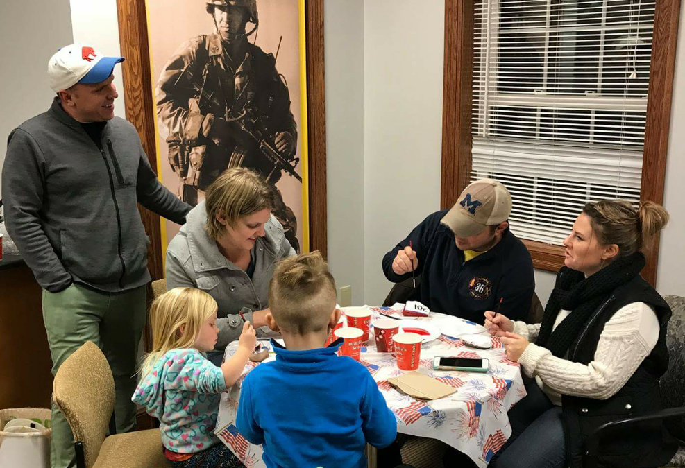 Operation BOOTS Helping Families Build Memories