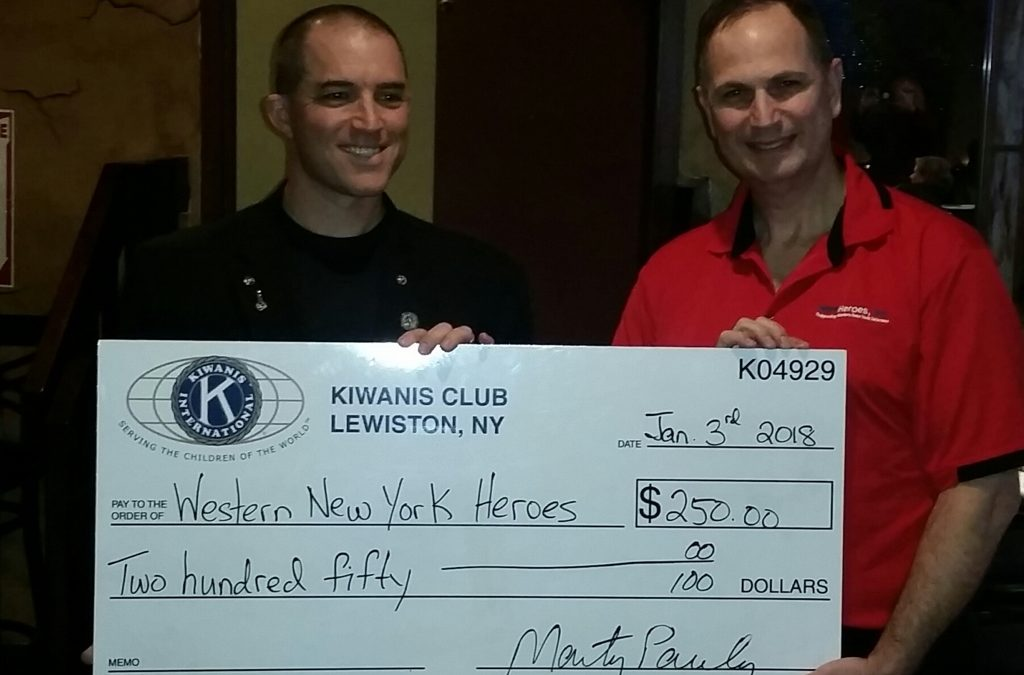 Kiwanis Club Of Lewiston Lends a Hand Up!