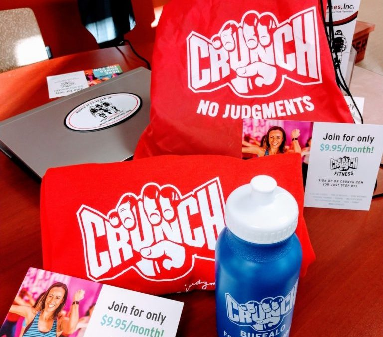"""Tuesday Morning Talk"" Visits with Crunch Fitness!"