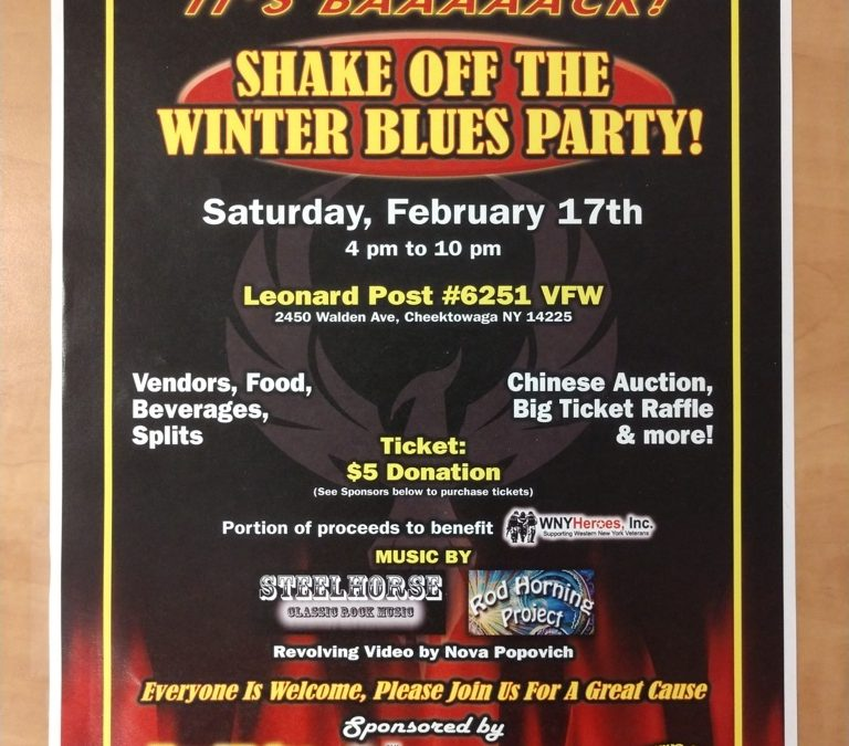 Shake The Winter Blues Party!