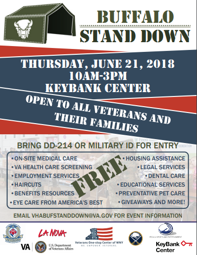18th Annual Buffalo Stand Down - WNY Heroes