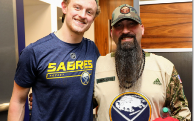 Sabres Meet Our Soldiers