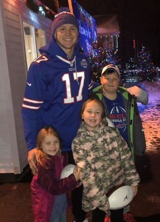Vet Family Profile:  Josh Allen's New Best Friends- The Wilkins!