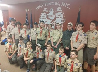 Boy Scouts Do Their Good Deed and Then Some!