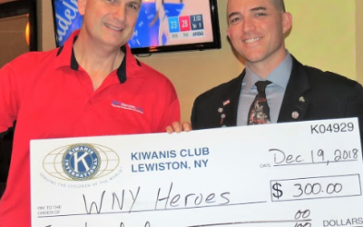 Lewiston Kiwanis Club Comes Through Again!