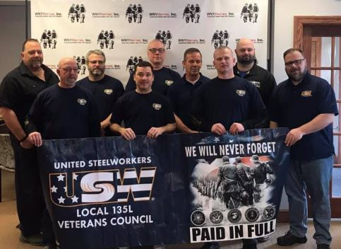 United Steel Workers local 135L Veterans Group Come Through