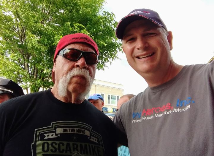 "Orange County Choppers Star Gets ""Coined"" by WNY Heroes"