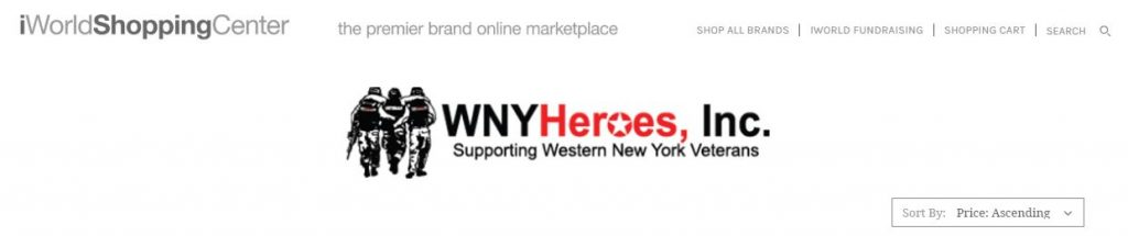WNY Heroes Registry at iworld Shopping Center