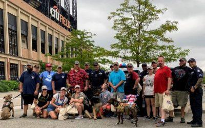 Combat Veterans Visit 9/11 Site